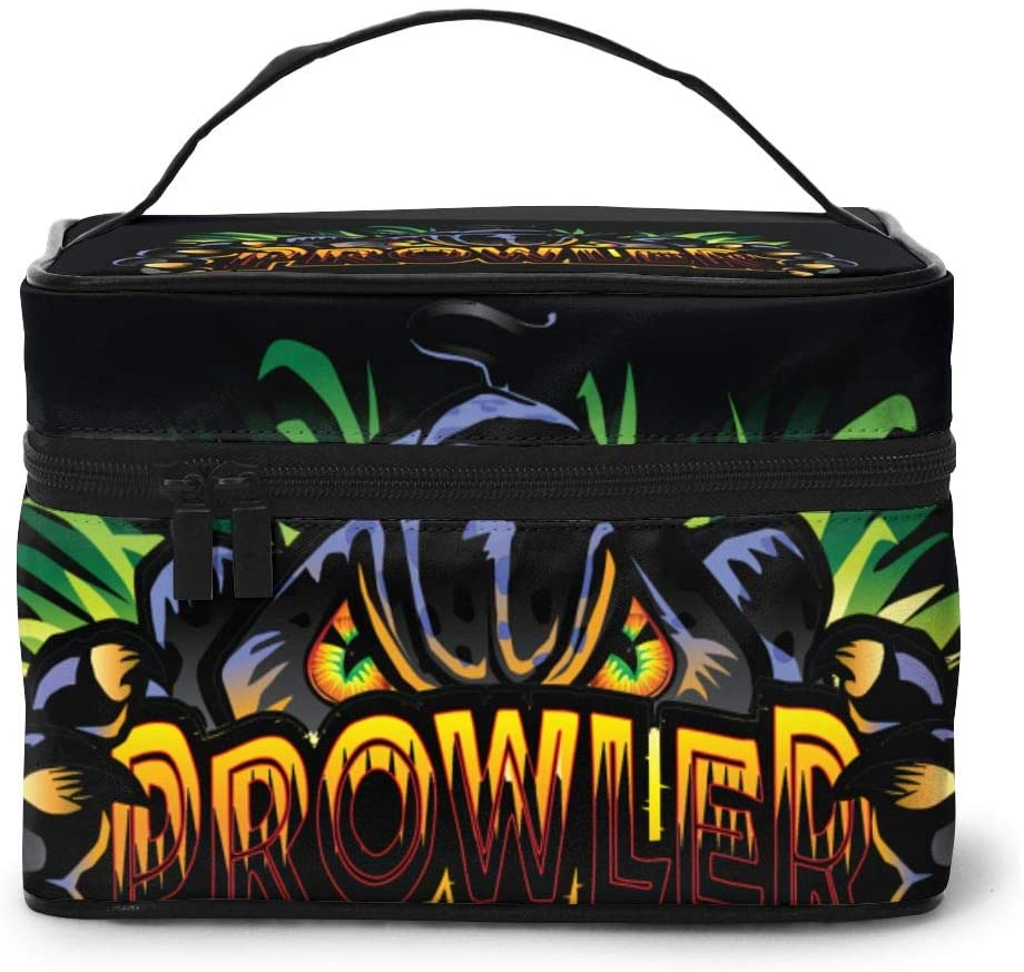 Wehoiweh Predator 9x6.5x6.2 Inches (Length X Width X Height) Large-Capacity Makeup Cosmetics Storage Bag Protection Bag Can Help You Maintain Beautiful Appearance Anytime, Anywhere