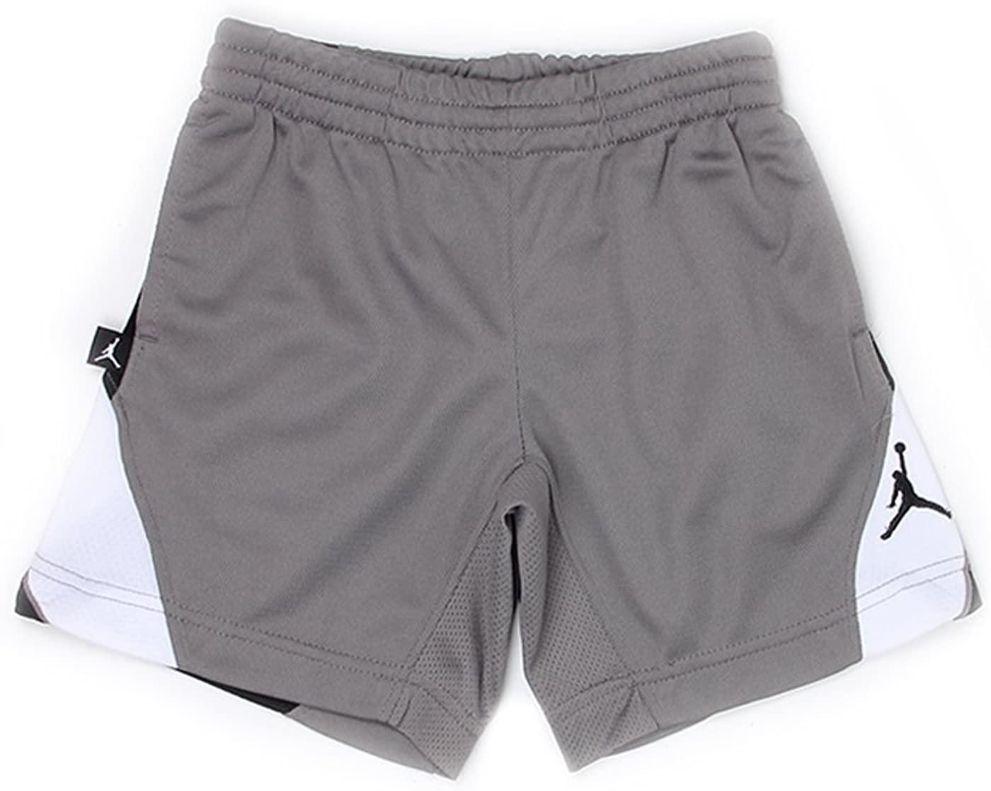 Nike Air Jordan Jumpman Boys Basketball Shorts, Flat Pewter, Large, 950922 292