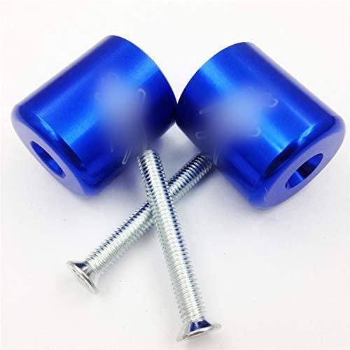 XKMT-Hand Bar End Compatible With Suzuki Katana 600 750 Sv650 Sv1000 S Tl1000S Bandit 1200 Blue [B00YWCU1LA]