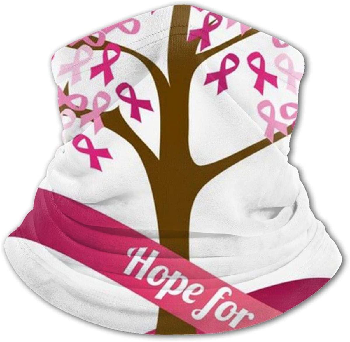 Breast Cancer Red Ribbon Headwear For Girls And Boys, Head Wrap, Neck Gaiter, Headband, Tenn Fishing Mask, Magic Scarf, Tube Mask, Face Bandana Mask For Camping Running Cycling