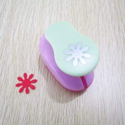 Clips 1PC 1 inch Craft Punch cortador de Papel de Scrapbook furador de eva Paper Punches eva Foam Punch for DIY - (Color: Daisy)