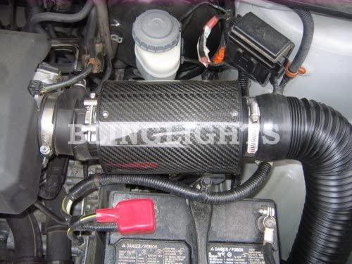 Honda Ridgeline Carbon Fiber Cold Air Intake Kit 3.5L Performance Engine Motor