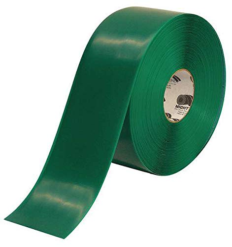 Industrial Floor Tape, Roll, Green, Vinyl