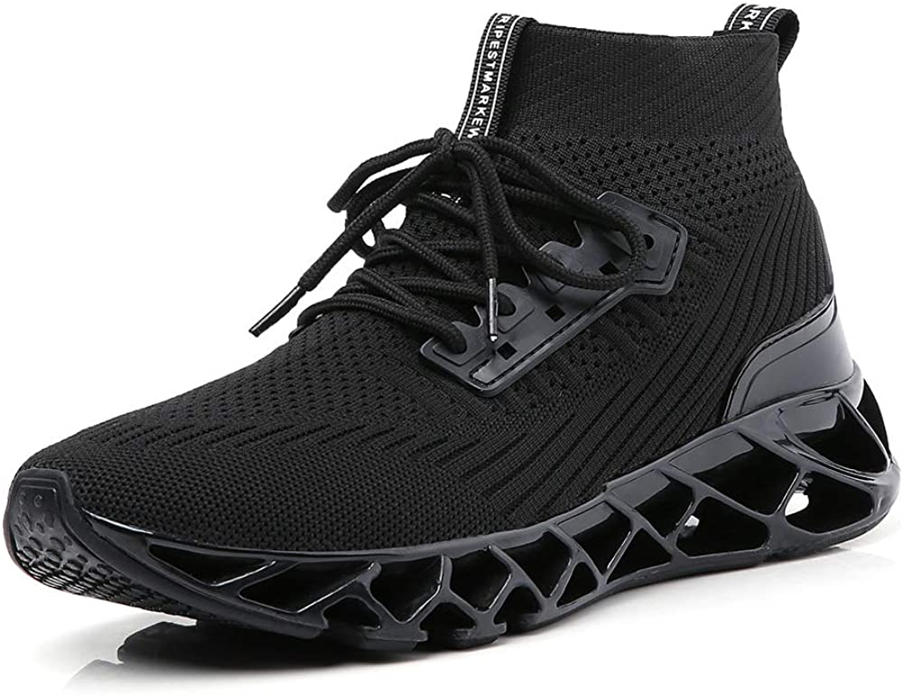 SKDOIUL Men Sport Running Shoes Mesh Breathable Trail Runners Fashion Sneakers