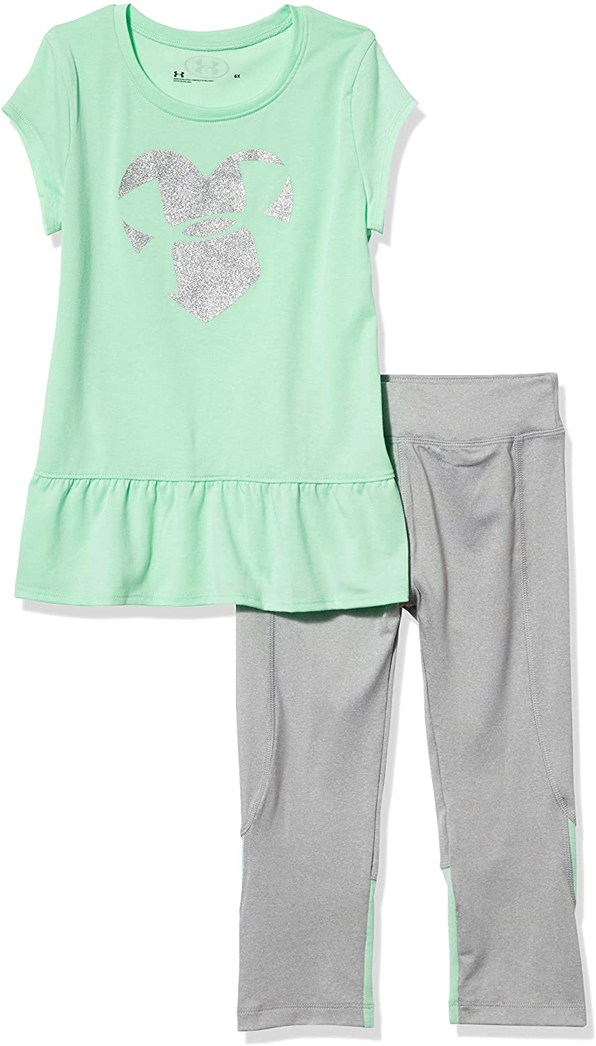 Under Armour Girls' Ua Logo Heart Set