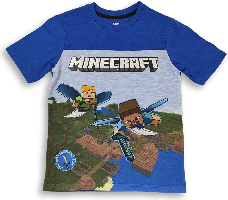 Minecraft Shirt for Boys Adventure Club T-Shirt