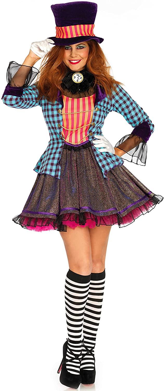 Leg Avenue 2PC. Ravishing Mad Hatter Women's Costume