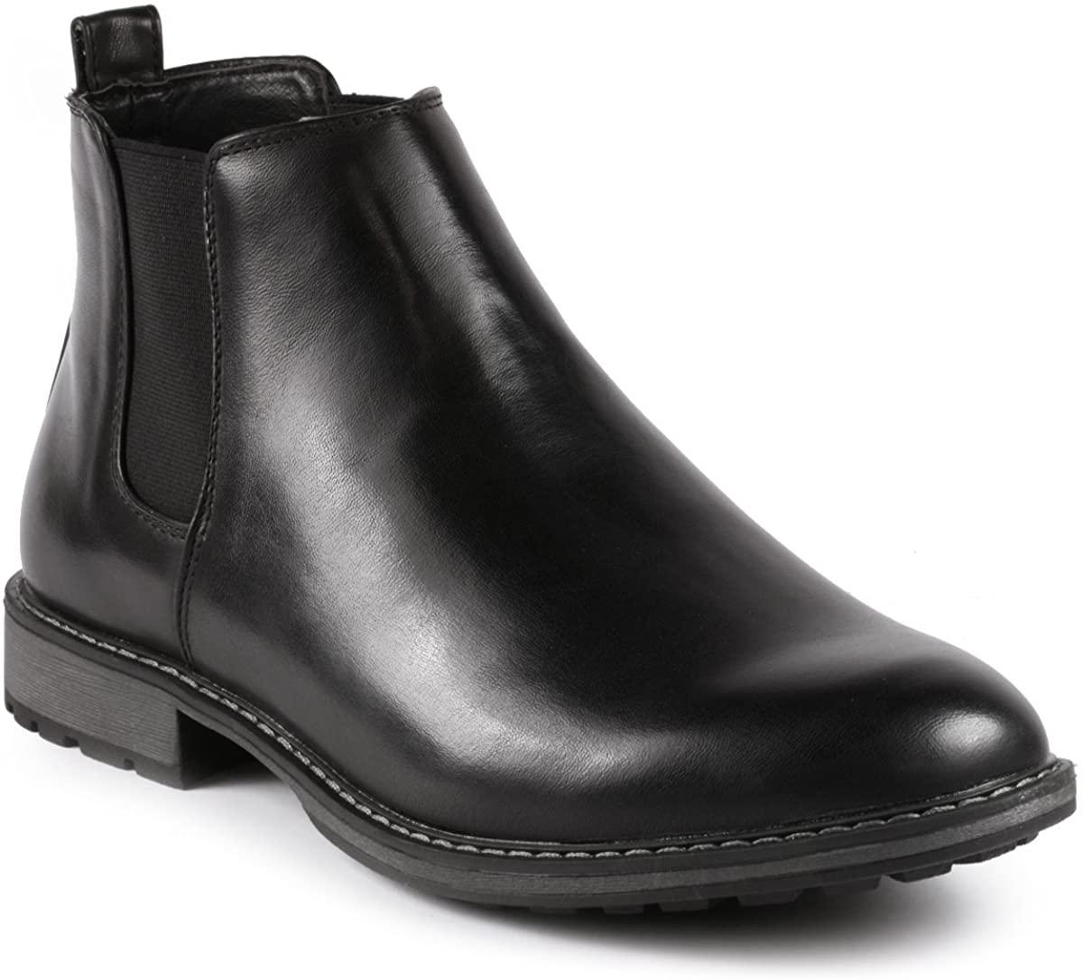 Metrocharm MC137 Men's Formal Dress Chelsea Ankle Boot