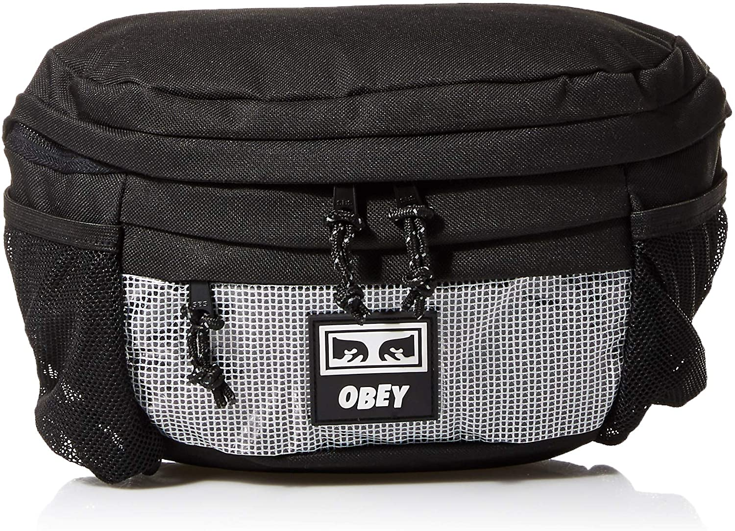 OBEY Men's Conditions Waist Bag II, black, One Size