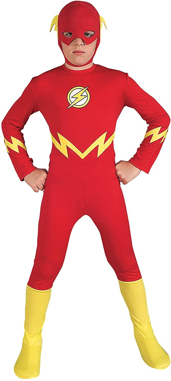 Justice League The Flash Childs Costume, Medium