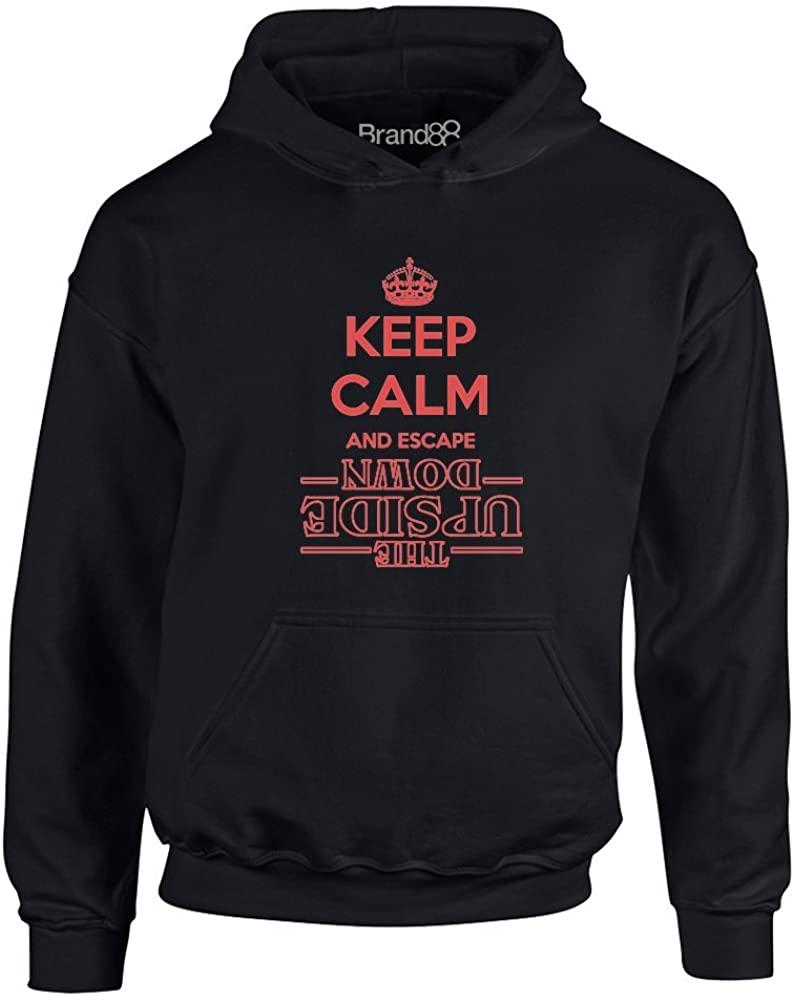 Brand88 - Keep Calm and Escape, Kids Hoodie