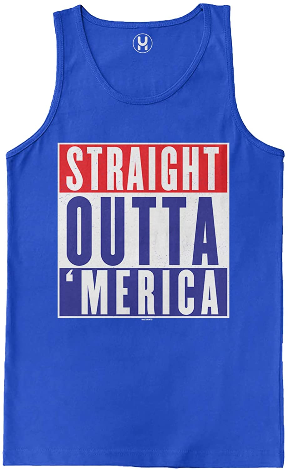 Haase Unlimited Straight Outta - Parody USA Men's Tank Top