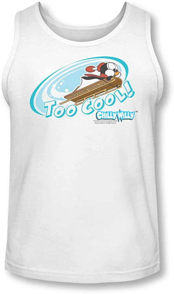 Chilly Willy - Mens Too Cool Tank-Top