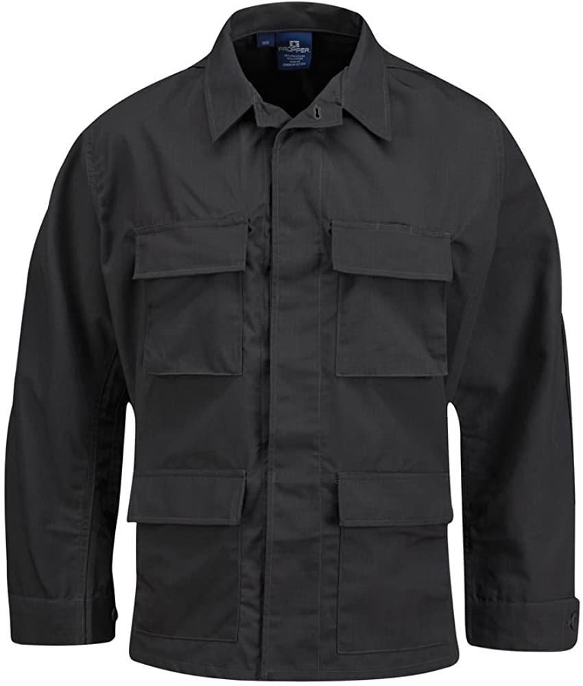 Propper Men's BDU Coat, Dark Grey, Medium Short