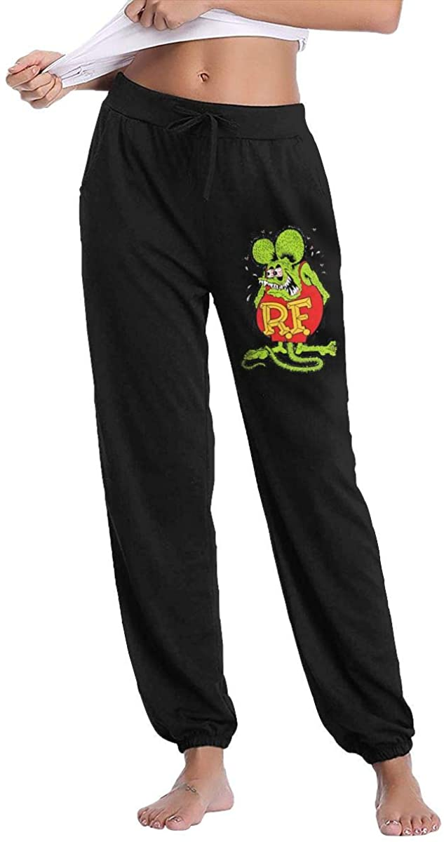 AP.Room Ladies Rat Fink Breathable Comfortable Trousers Sweatpants