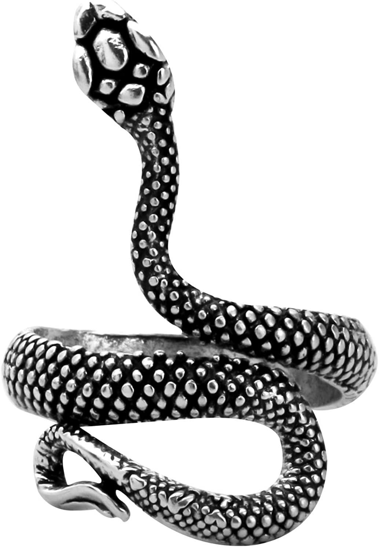 CENWA Snake Ring Adjustable Snake Ring Jughead Jones Riverdale Inspired Gift Punk Jewelry