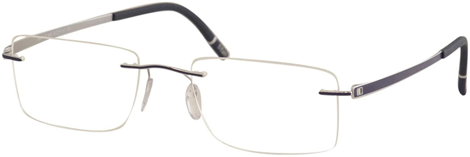 Eyeglasses Silhouette Momentum (5529) 4510 Silver/Pacific Blue 52/19/140 3 p
