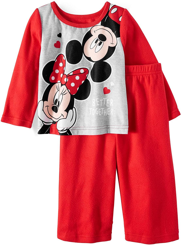 Minnie Mouse 2pc Pajamas Set Toddler Girl
