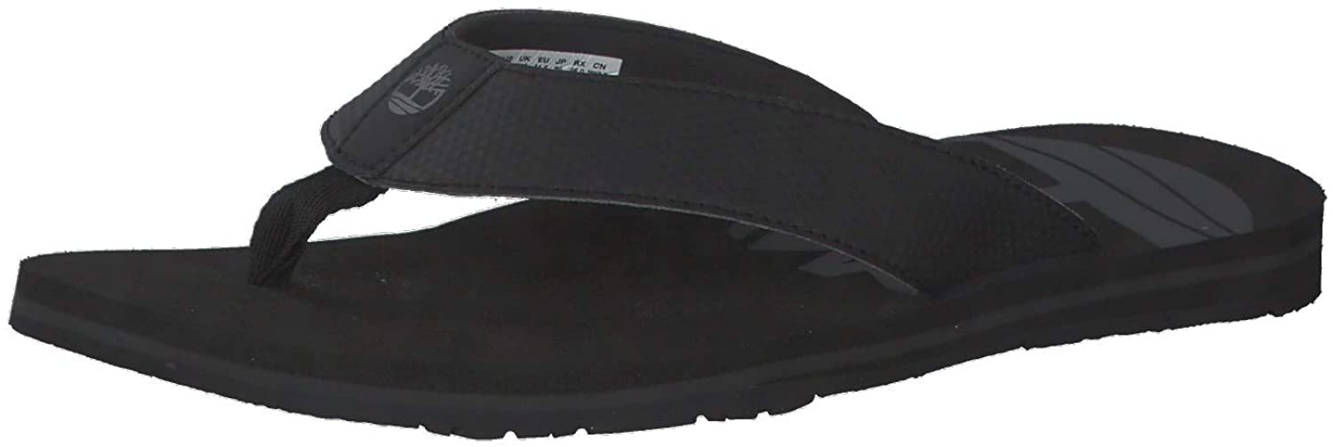 Timberland Wild Dunes Synth Thong Sandals Size 10 Black