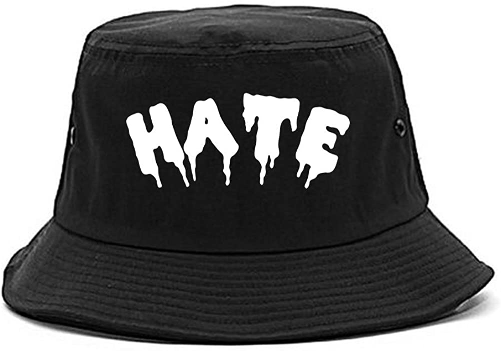 Kings Of NY Hate Goth Blood Font Bucket Hat