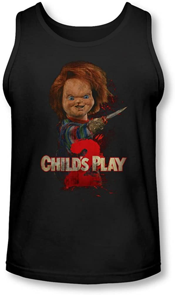 Childs Play 2 - Mens Heres Chucky Tank-Top