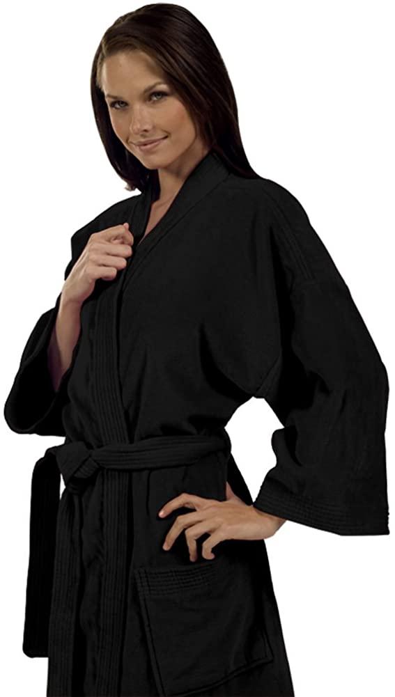 Terry Kimono Robe for Women and Men