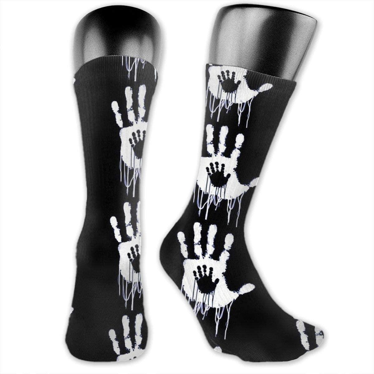 Unisex Crazy Funny Cool 3D Print Death Stranding Art Colorful Running Travel Socks Novelty Casual Crew Socks