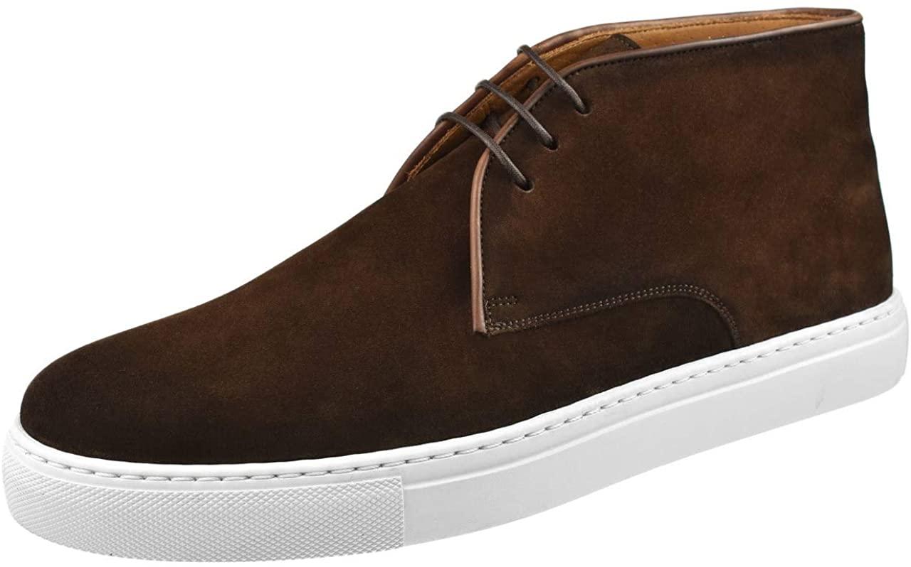 Magnanni Mens Zach Chukka Sneaker 21757-MDBrown