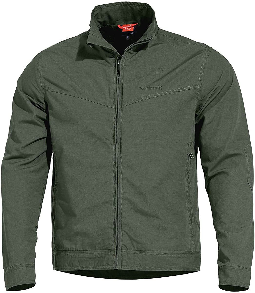 Pentagon Men's Nostalgia Jacket Ripstop Camo Green