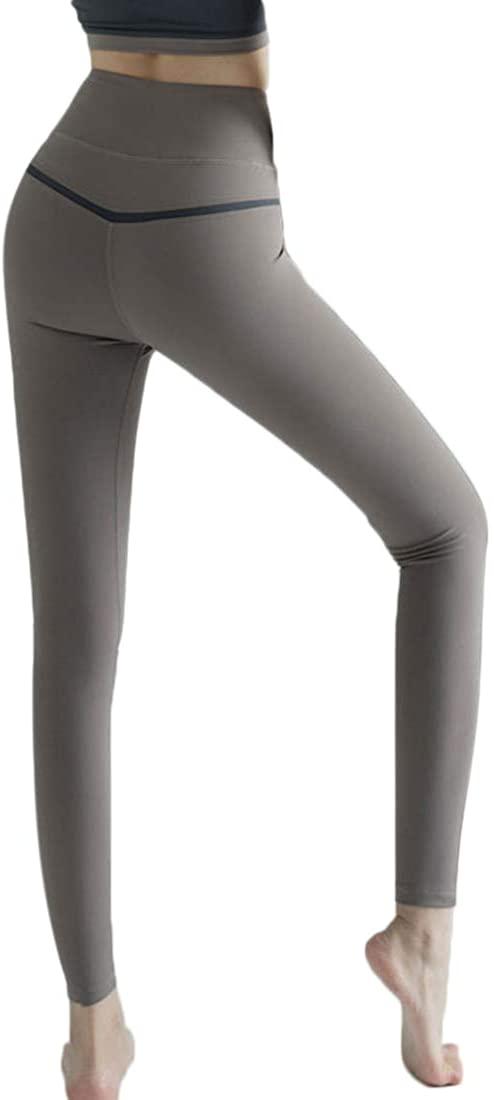 YoYogini High Waistband Yoga Pants for Women Sports Leggings Tummy Control Workout Pants