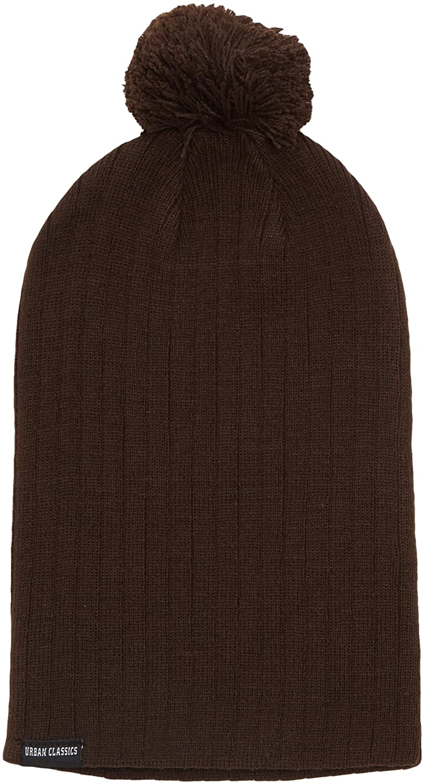 Urban Classics Unisex Knitted Hat Bobble Beanie