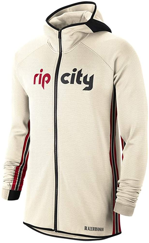 Nike POR NBA City Edition Thermaflex Showtime Hoodie AT9481-120 Size 3XL