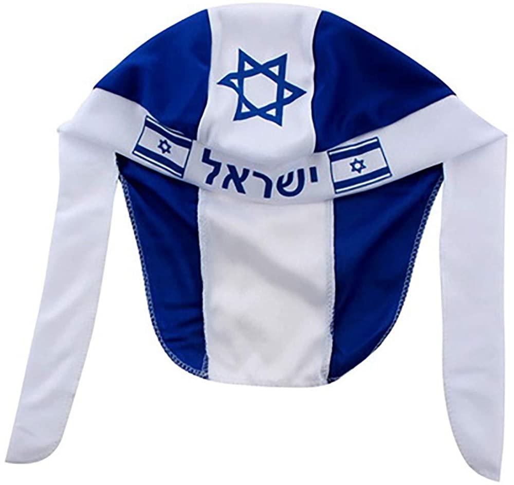 Judaica Place Israeli Bandana Israel Flag Accessories