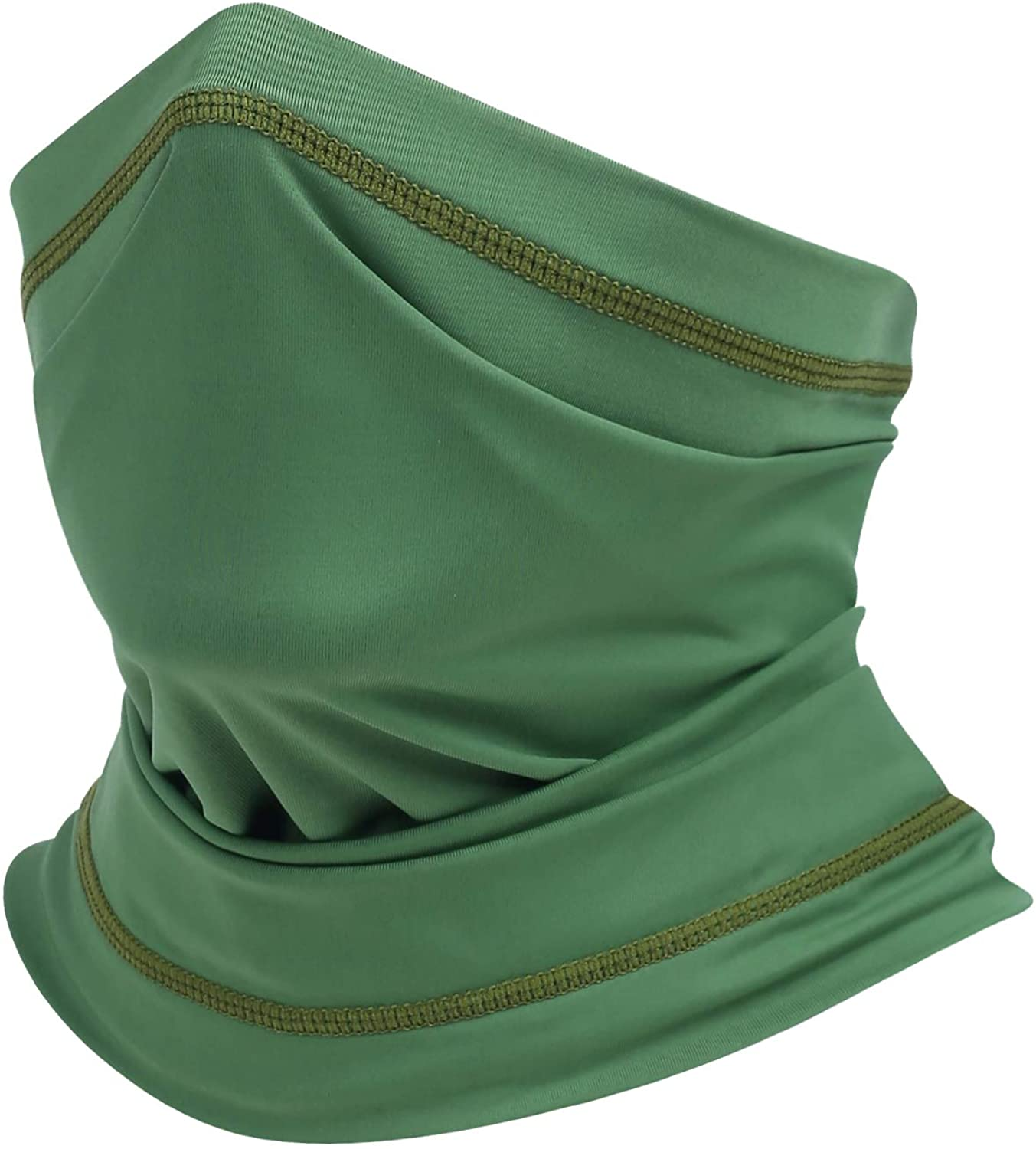 Summer Cooling Face Mask Neck Gaiter Silky Dustproof UV Protective Scarf