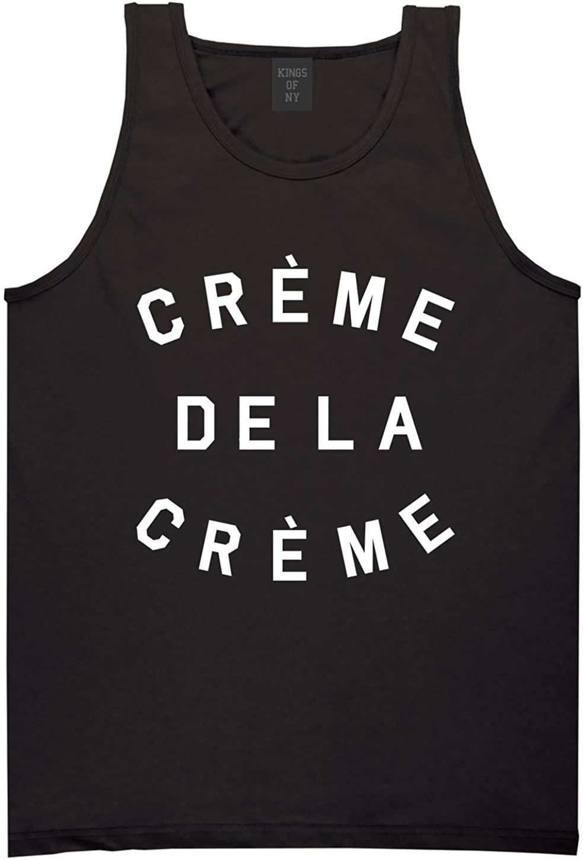 Kings Of NY Creme De La Creme Celebrity Fashion Crop Tank Top T-Shirt