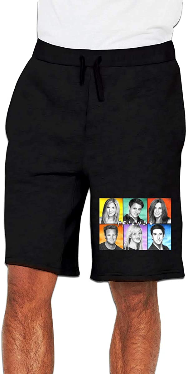 N/D Friends Week Rachel Greene Mens Casual Shorts Workout Fashion Comfy Shorts Breathable Big and Tall Shorts