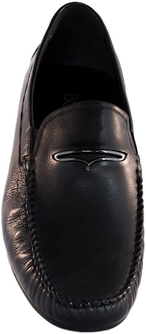 Mensola Men's Loafers (Black)