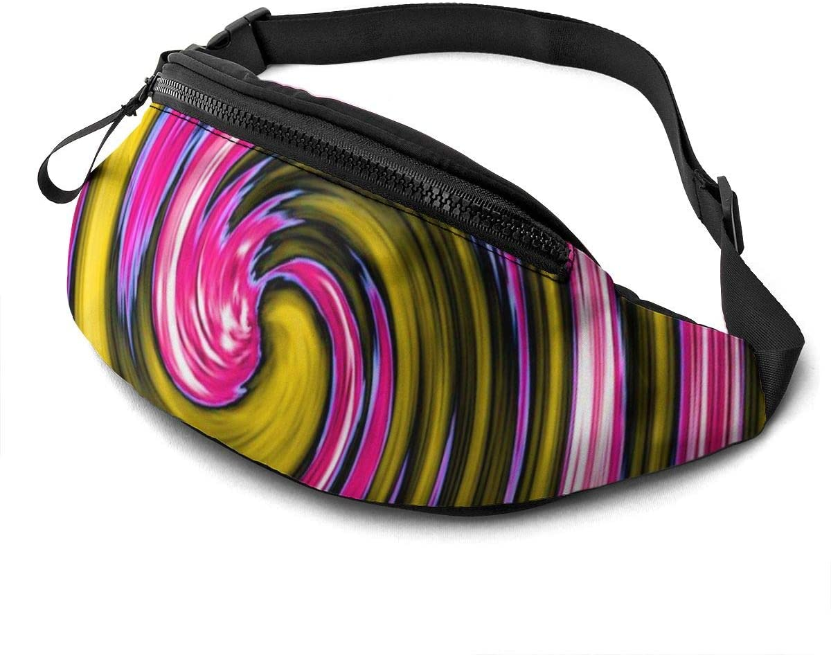 Swirl Twirl Fanny Pack Fashion Waist Bag