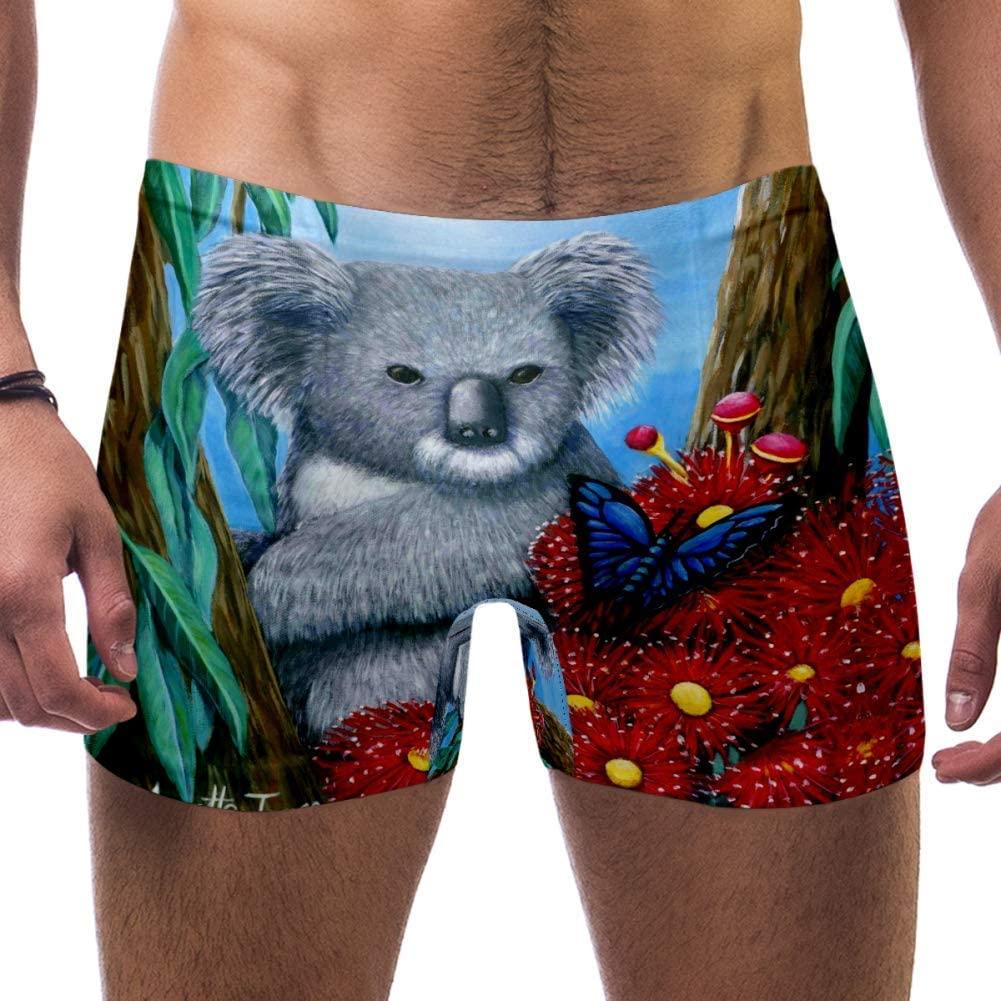Mens Websitelow Res Koala Swimsuits Swim Trunks Shorts Athletic Swimwear Boxer Briefs Boardshorts