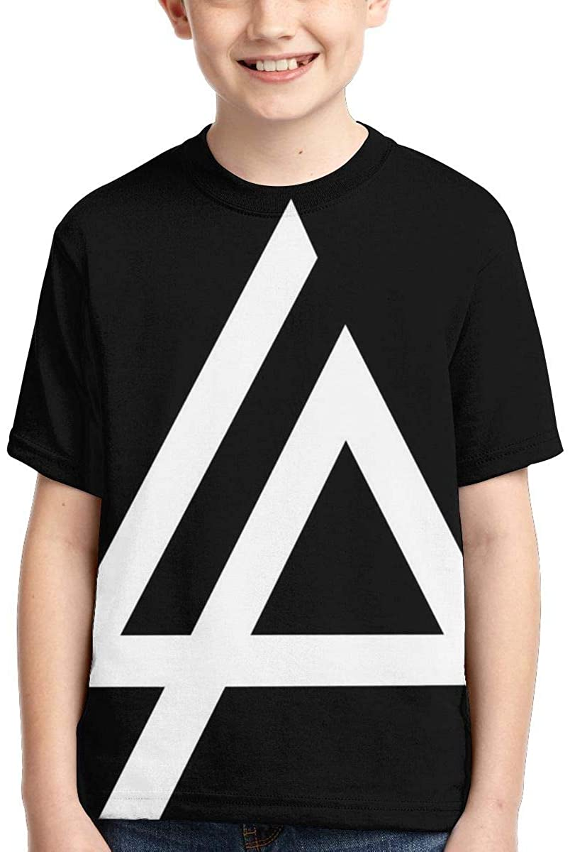Linkinpark Youth T-Shirt Fashion Anime Shirt Boys and Girls Funny Children Short-Sleeved T-Shirt