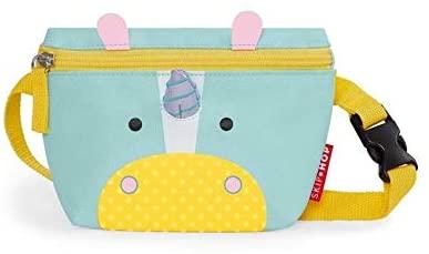 Skip Hop Zoo Hip Pack Unicorn Waist Bag, Youth Unisex, Multi-Colour, One Size