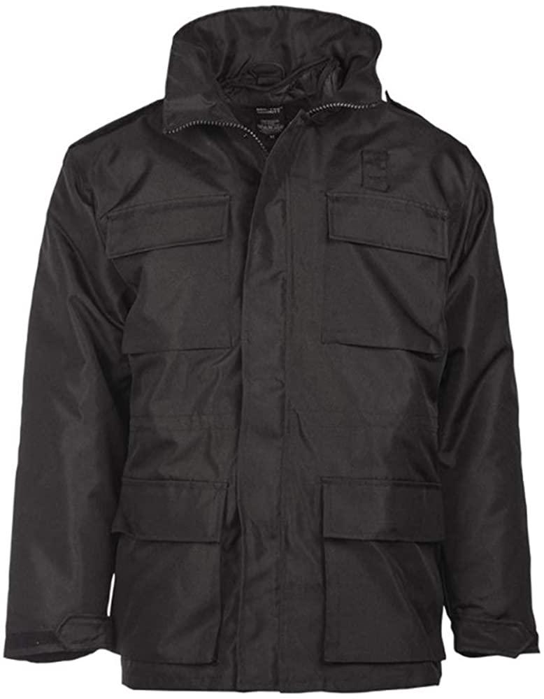 Mil-Tec Black Security Jacket
