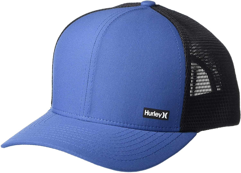 Hurley Men's League Dri-Fit Snapback Baseball Cap, Mystic Navy, ONE Size
