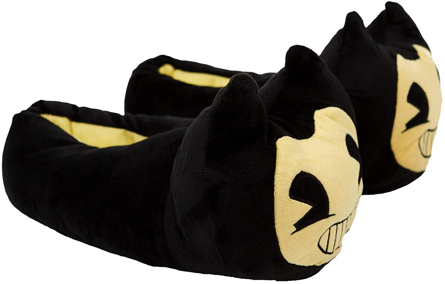 Bendy and the Ink Machine Slippers - Bendy Black and Yellow Slippers