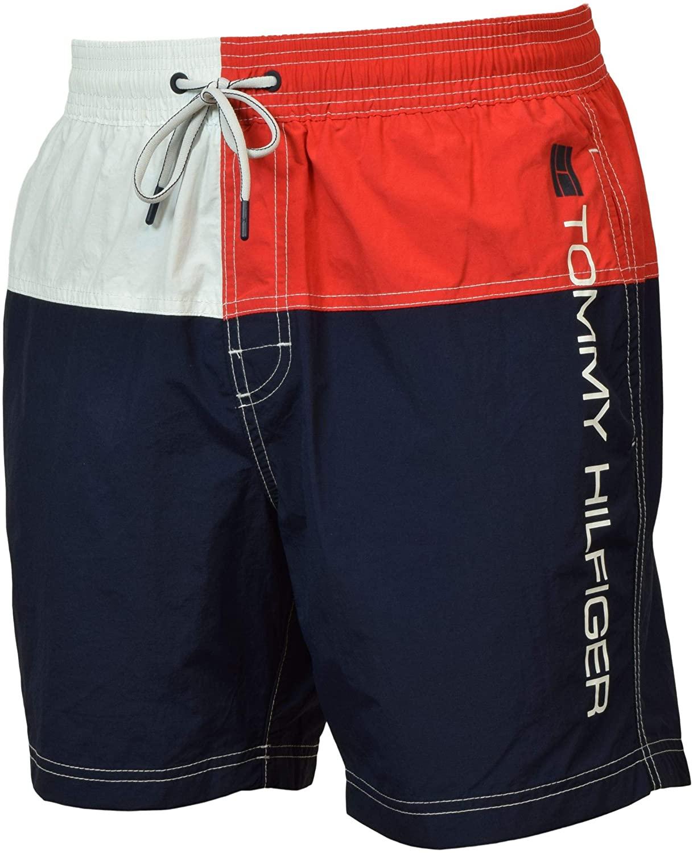 Tommy Hilfiger Mens Carl Beachwear Shorts Swim Trunks