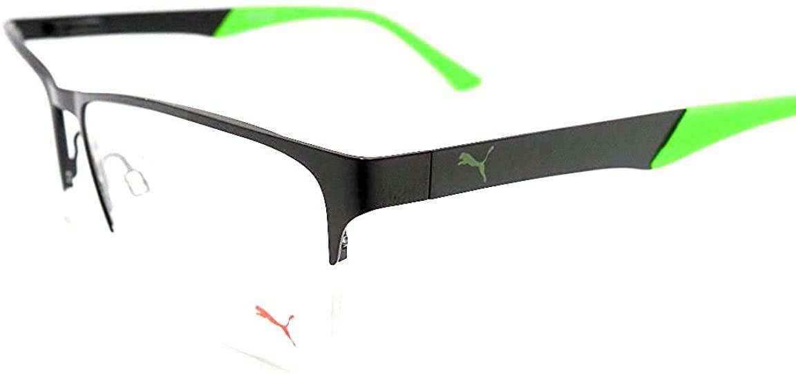 Puma PE0013-001 Eyeglasses w/Demo Lens 56mm