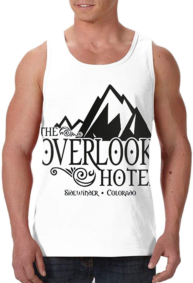 Lucky Person Overlook Hotel Adult Cotton Men's Vest