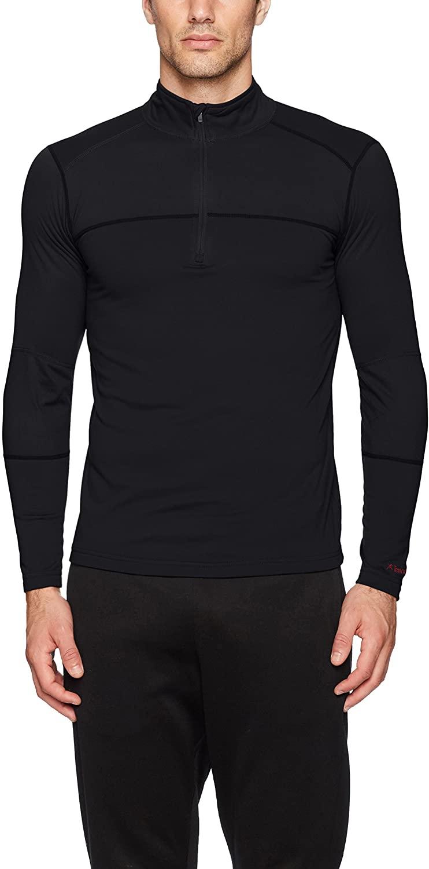 Terramar Men's Military Fleece Quarter Zip Pullover Jacket