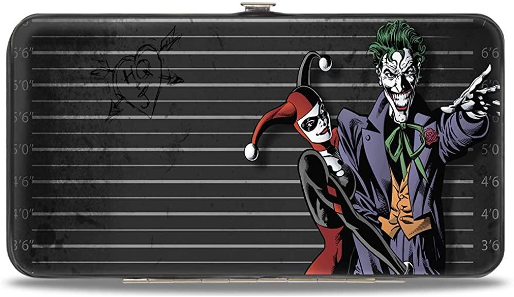 Buckle-Down Women's Hinge Wallet-Harley Quinn Joker