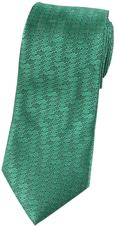 Towergem Extra Long Mens Tie Woven Jacquard Necktie